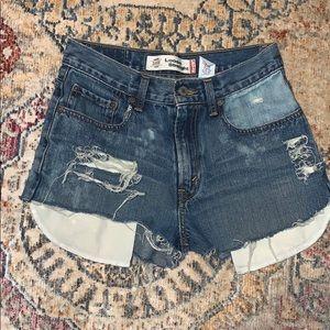 Levi Strauss cutoff shorts